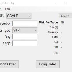 Bracket Order Entry - Interactive Brokers