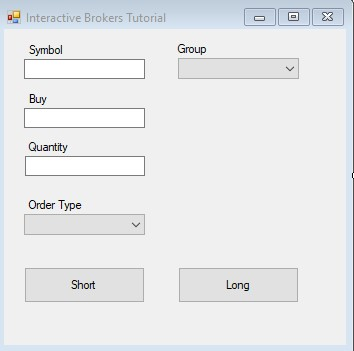Sample Forms Application with Controls